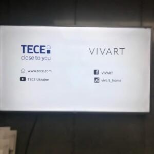 Презентация продукции TECE в VIVART Днепр